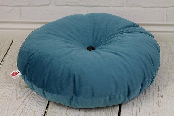 Grand coussin de sol pour enfant Bleu