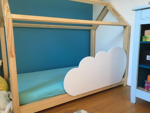 barrière de lit amovible nuage taille l