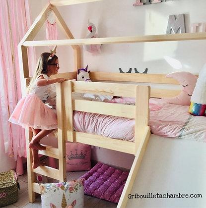 Kit toboggan pour ajouter au lit Maison Pilotis