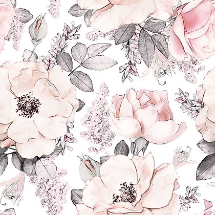 Papier peint Pink Garden