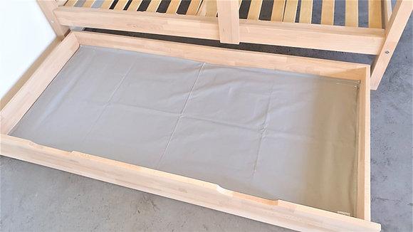 Fond textile pour tiroir de rangement