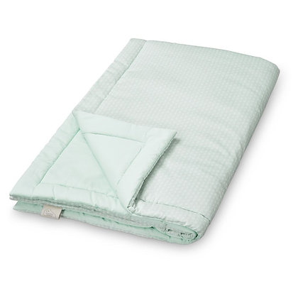 Edredon couverture moelleuse CamCam Sashiko Mint