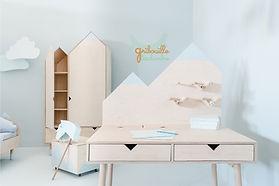 Bureau junior design Mont Blanc artisanat