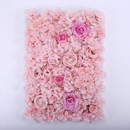 Cadre floral princesse rose