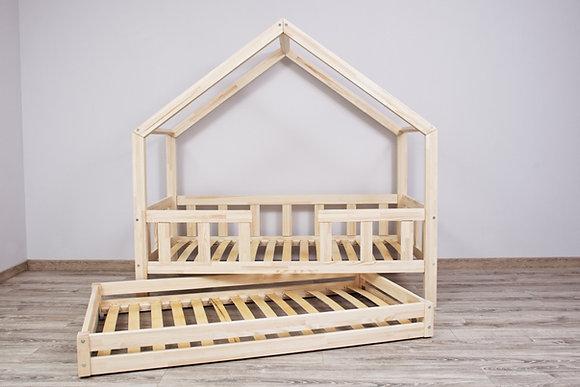 Lit cabane PINEDE Confort avec tiroir à partir de