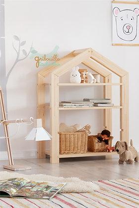 Etagère Montessori évolutive Maison