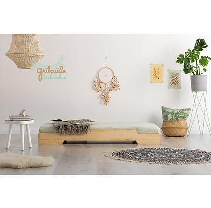 Lit Montessori Empilo avec sommier et livraison incluse à partir de