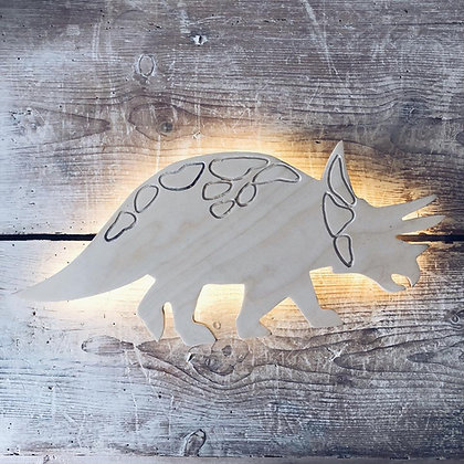 Applique murale Tricératops
