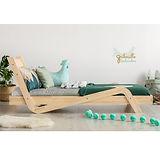 lit cabane maison enfant bébé montessori au sol chambre fille garçon ziat