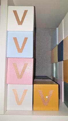 V - Cube bois express