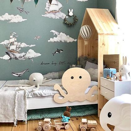 Barrière de lit amovible Poulpy