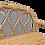 Thumbnail: Jolie étagère murale en Canne naturelle