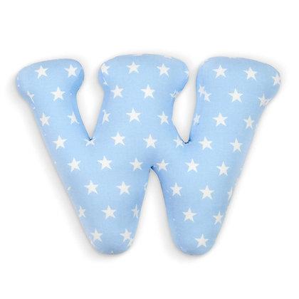W : Lettre géante en Coton