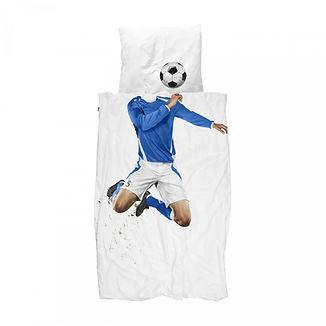 Parure de lit enfant fan de foot snurk