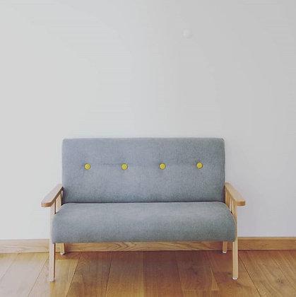 Canapé velours coloris au choix