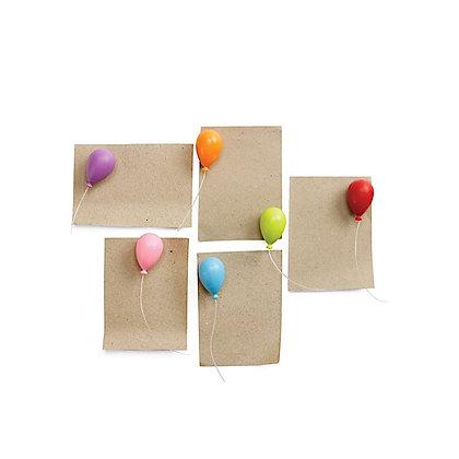 Lot de 6 magnets Ballons