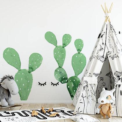 Magnifique Décor sticker Cactus