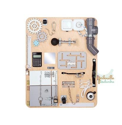 """Tableau d'activité """"Busy Board"""" Standard Bois naturel"""
