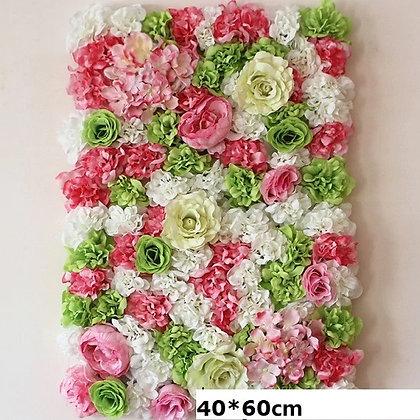 Cadre floral bohème nature