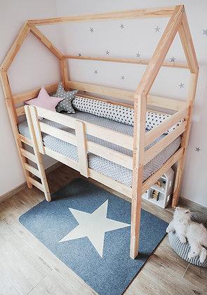 Kit de barrières pour refermer l'espace toboggan de notre lit Pilotis