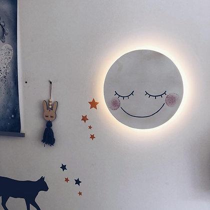 Applique murale Lune enchanté