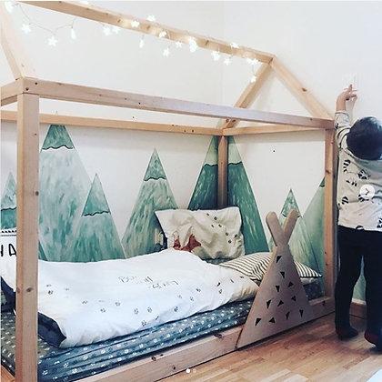 Barrière de lit amovible Teepee