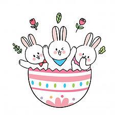 dessin-anime-mignon-lapins-paques-gros-o