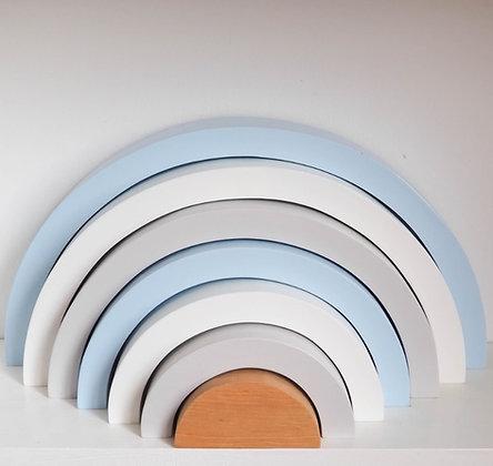 Arc en Ciel Arabesque Montessori Nouvelle Version Bleu