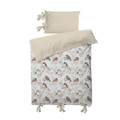 Parure de lit 100x135cm Little birds