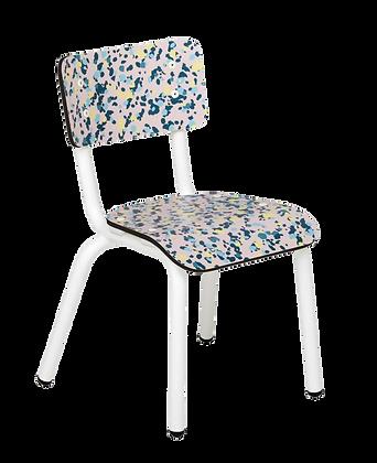 Chaise d'écolier maternelle Little Suzie Minéral Rose