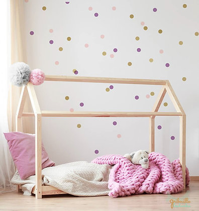 Lit Maison Montessori 70x140 Click & Collect