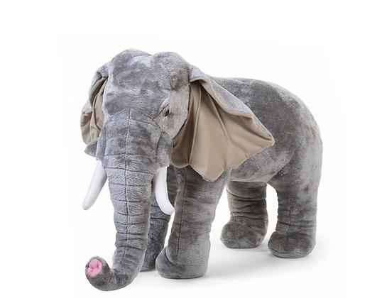Éléphant géant de chambre 75cm