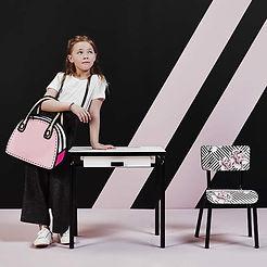 Bureau enfant Les Gambettes chaise design deco