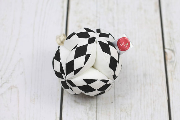 Balle de préhension Montessori Noir & blanc