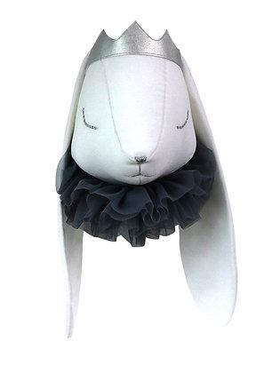 Reine Bénédicte le Lapin Bélier fourreau gris