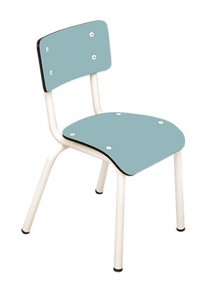 Chaise d'écolier maternelle Little Suzie Bleu Jade