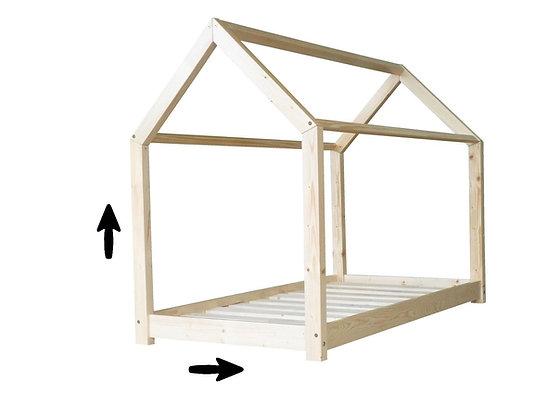Option sur mesures pour Lit Maison, Maison d'Archi ou structures au sol.