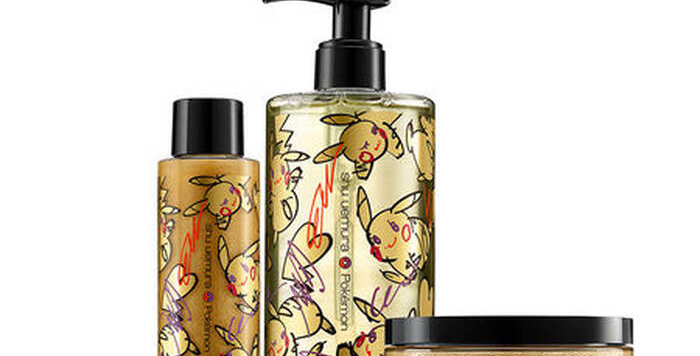 Shu Uemura Art of Hair x Pokémon Collection
