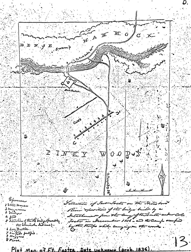 FORT FOSTER AND THE SECOND SEMINOLE WAR
