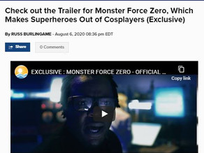 New Trailer for Monster Force Zero, Premiere's on Comicbook.com!