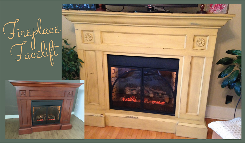 Fireplace with a Facelift!