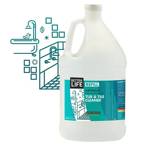 Bathroom Brightening Tub & Tile Cleaner REFILL