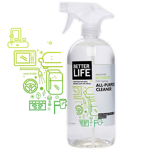 Naturally Filth-Fighting Unscented ALL-PURPOSE CLEANER