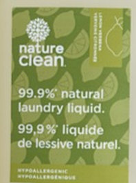 Nature Clean Laundry Soap: sold per 100ml