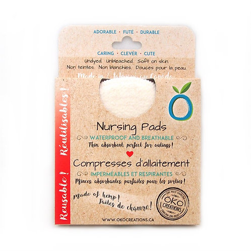 OKO Creations Hemp Nursing Pads