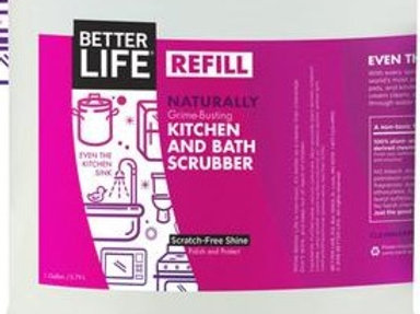 Naturally Grime-Busting Kitchen & Bath Scrubbe: sold per 100ml