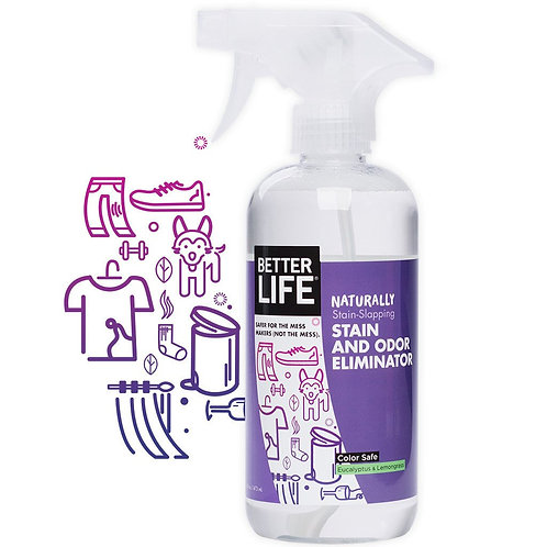 Naturally Stain-Slapping STAIN AND ODOR ELIMINATOR