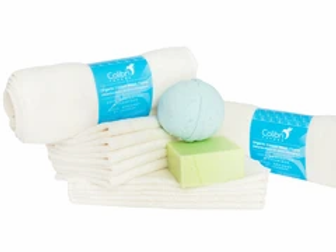 90% Organic Wash Cloths - Pack of 5 Singles