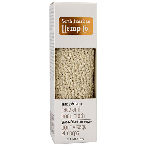 Hemp Exfoliating Face and Body Cloth
