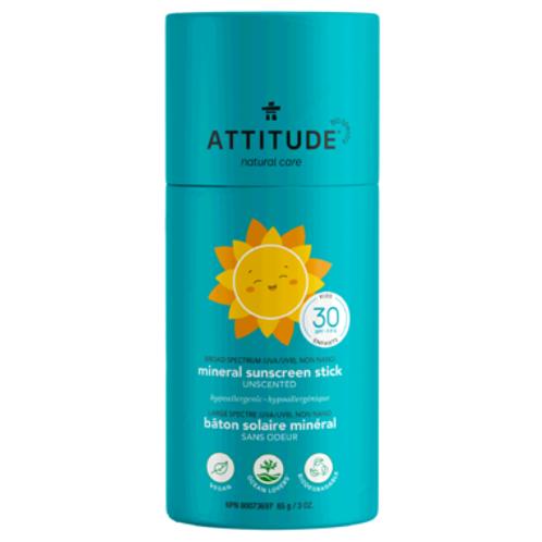ATTITUDE Natural Care mineral sunscreen stick